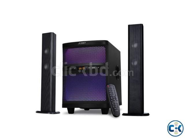 F D T-200X 2 1 High Quality Bluetooth Soundbar TV Speaker | ClickBD large image 0