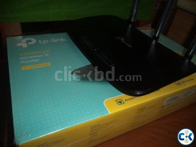TL-WR940N v6 450Mbps N Router | ClickBD large image 0