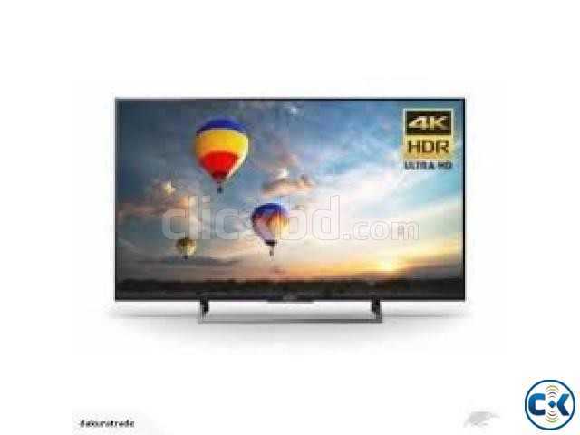 SONY BRAVIA KDL-43X8000E Television 4K LED Smart Android TV | ClickBD large image 0