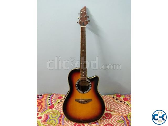 TGM Semi-Acoustic Guitar Ovation shape  | ClickBD large image 0