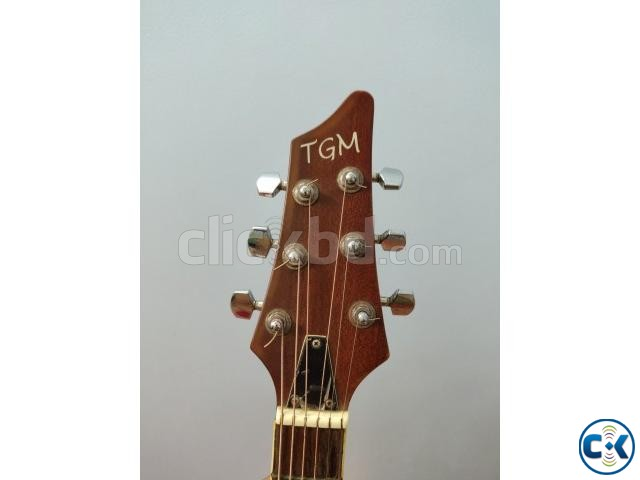 TGM Semi-Acoustic Guitar Ovation shape  | ClickBD large image 3