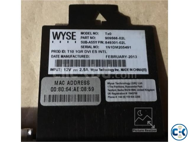 WYSE Tx0 Thin Client CPU 1.0GHz 1GB RAM DVI INTL 909566- | ClickBD large image 2