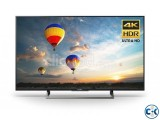 New Sony KD-X8000E 4K 49 Voice Search Android Smart LED TV