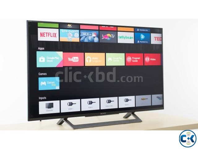 New Sony KD-X8000E 4K 49 Voice Search Android Smart LED TV | ClickBD large image 3