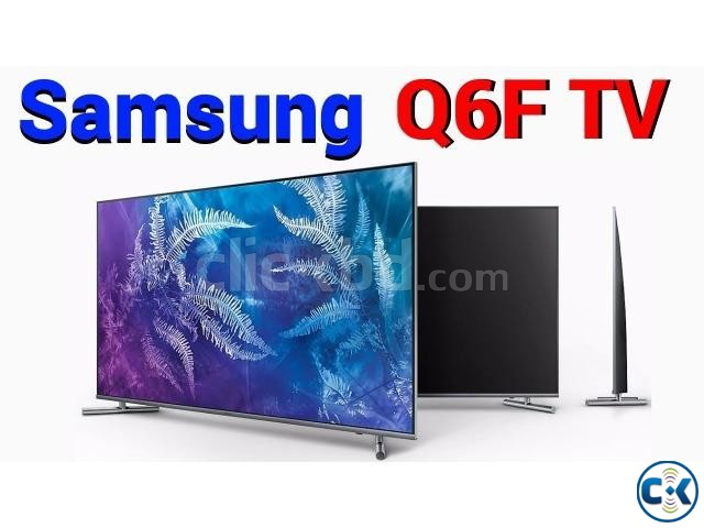 SAMSUNG 55 Q6F QLED TV Special Price In bd 01960403393 | ClickBD large image 0