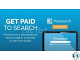 NOW get paid for searching
