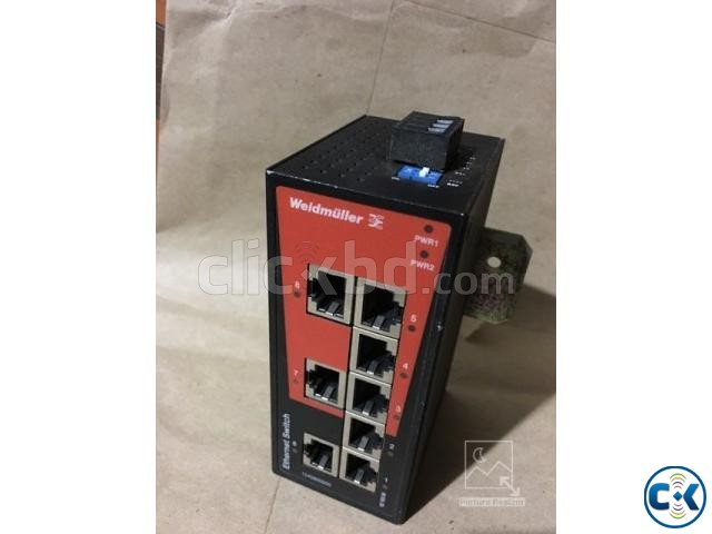 Network switch Fast Ethernet IE-SW-BL08-8TX | ClickBD large image 1