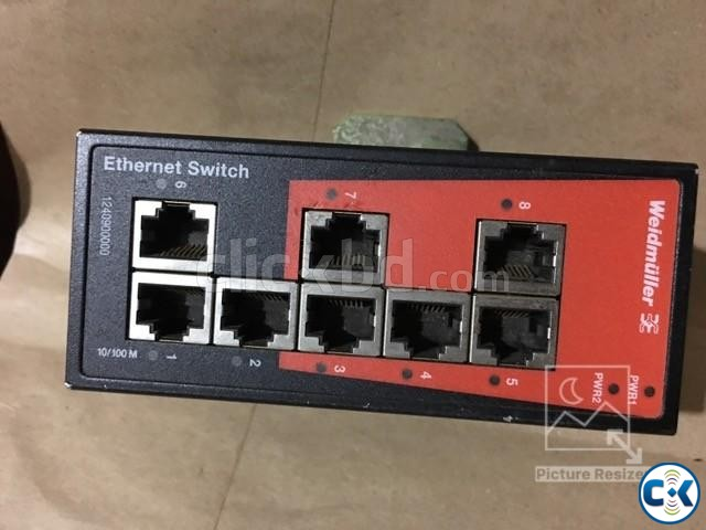 Network switch Fast Ethernet IE-SW-BL08-8TX | ClickBD large image 2
