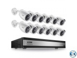 12 Channel CCTV System with 19 LED Monitor