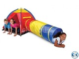 Discovery Kids Adventure Play Tent with Tunnel