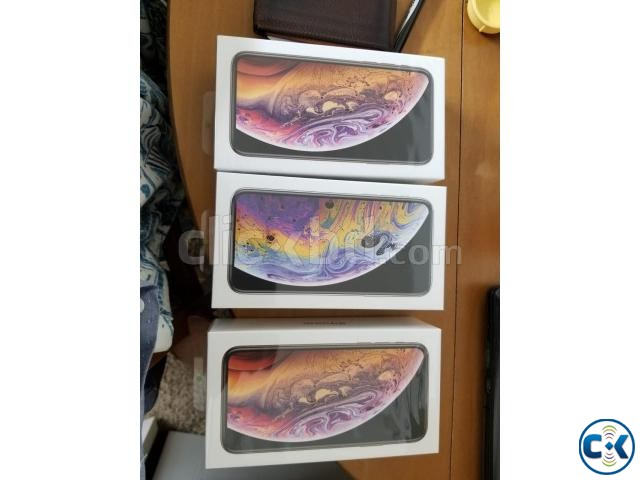 iPhone XS 256GB Gold Silver Gray Unlocked from Apple Store | ClickBD large image 0