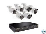6 Channel CCTV System 40 full Package 41