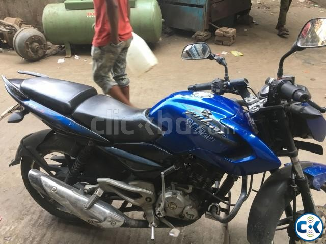 Pulsar 135ls Blue for sell | ClickBD large image 0