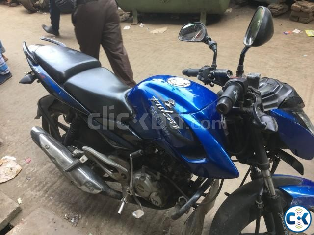 Pulsar 135ls Blue for sell | ClickBD large image 1