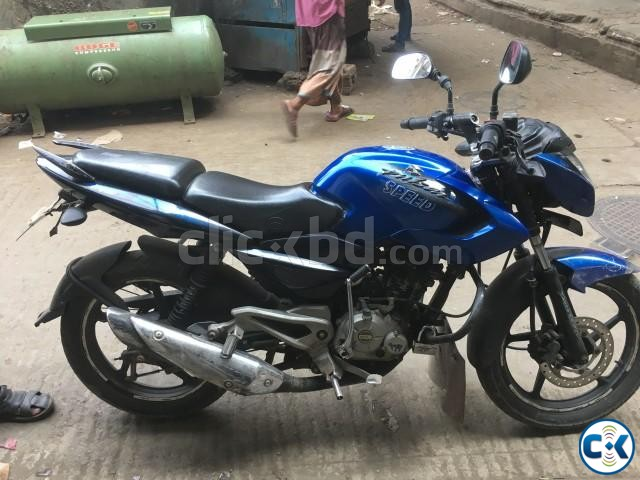 Pulsar 135ls Blue for sell | ClickBD large image 4