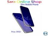 Dual Simcard Ultra Thin Phone Crystal Led Display