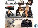5 in 1 Air-O-Space Air Bed Cum Sofa Free PumperNew