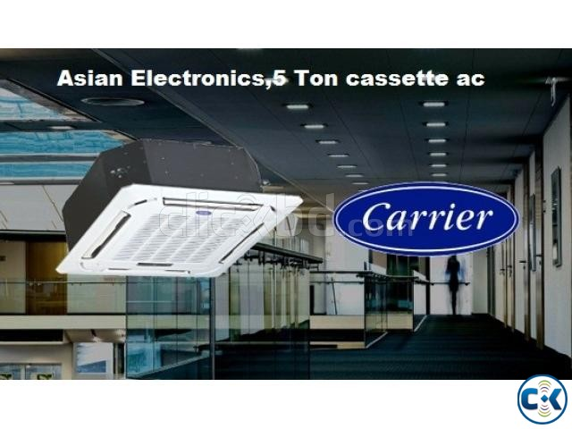 CARRIER 5 Ton Cassette Type AC Air Conditioner | ClickBD large image 0
