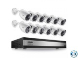4 Channel CCTV System with 19 Samsung LED Monitor