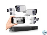 CCTV System 8 channel full Package