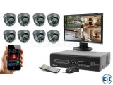 CC Camera DVR Full Package 08Pcs