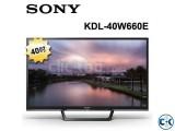 40 Inch SONY LED BRAVIA TV KDL-40W660E