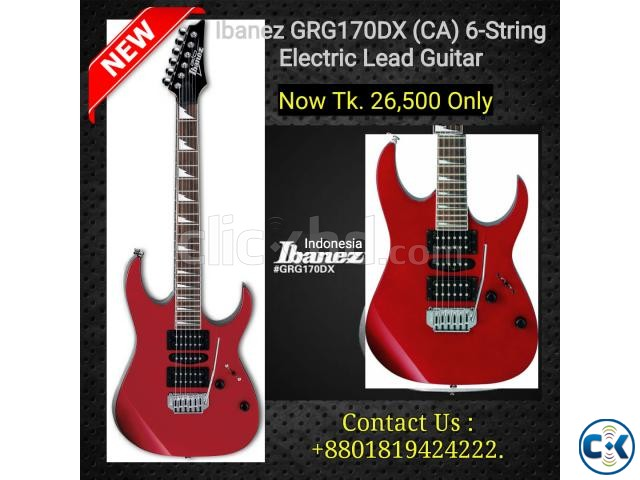 Ibanez GRG170DX CA Electric Lead Guitar. | ClickBD large image 0