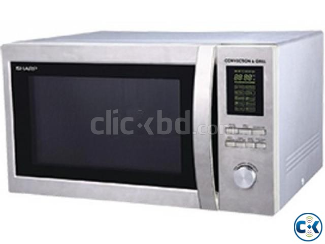 Sharp R-84A0 ST V Full Convection 25 Liter Microwave Oven | ClickBD large image 2