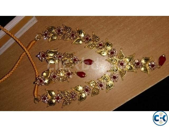 Gold Plated Jwellery | ClickBD large image 0