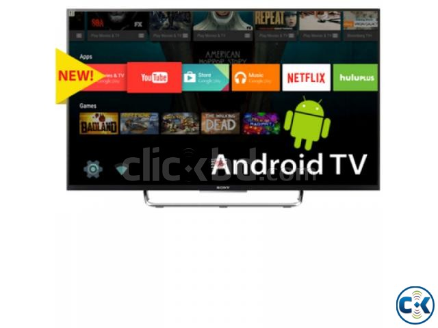 Sony 43 W80C Full HD LED Smart with 3D Android TV | ClickBD large image 0