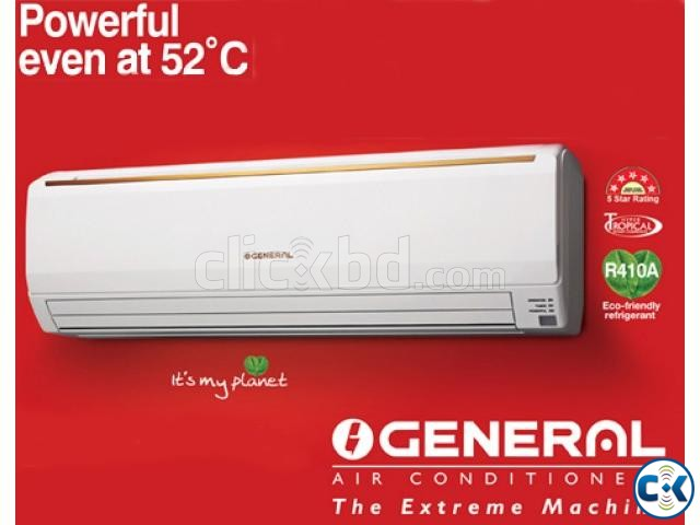 General 1.5 Ton Wall Mounted Split Type AC | ClickBD large image 0