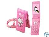 Hello Kitty D10 Dual SIM Touch Display Folding Phone