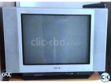 SONY 21 CRT FLAT COLOR TV