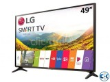 LG 49 Inch Full HD Smart LED TV- 49LJ550V Korea Made