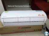 CHIGO AC 1.5 TON Air Conditioner AC with warrenty