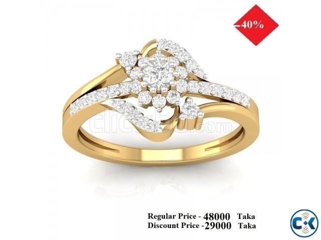 Diamond Ring 40 OFF   ClickBD large image 0