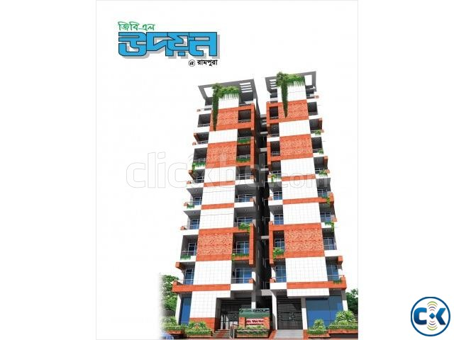 1030 Sft 3 Bed Flat West Rampura | ClickBD large image 0
