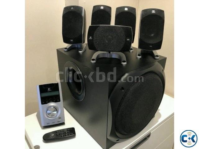 Logitech Z-5500 THX-Certified 5.1 Digital Surround Sound Spe | ClickBD large image 0