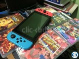 Nintendo Switch 32GB with Neon Red Neon Blue Joy-Con