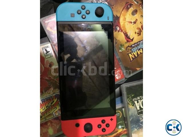 Nintendo Switch 32GB with Neon Red Neon Blue Joy-Con  | ClickBD large image 1