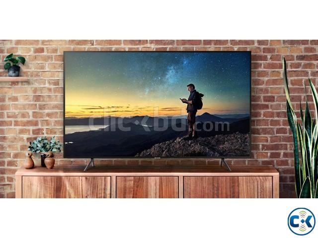 Samsung NU7400 55 Flat 4K UHD 20W Sound LED Smart TV   ClickBD large image 0