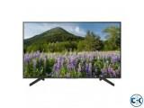 Sony Bravia KD-43X7000F 43 Flat 4K UHD LED Smart TV