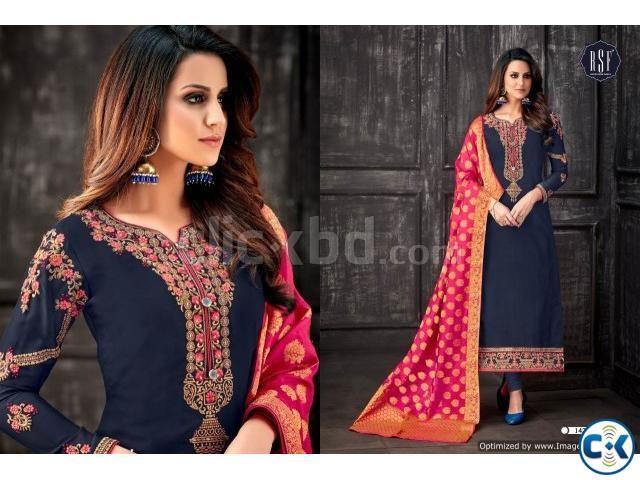 Wholesale Designer Salwar suit - BD Textile export | ClickBD large image 0