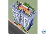 1350 sft flat South face Aftabnagar G Block