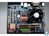 Pentium Dual Core E5200 Gigabyte G31 MOBO 2GB RAM