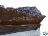 Malayasian Bed 6 feet by 7 feet