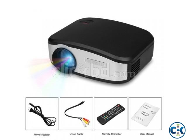 CHEERLUX C6 TV Projector Portable LED | ClickBD large image 0