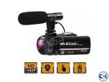 Digital Video Camera Full HD 1920P Camera With External Micr