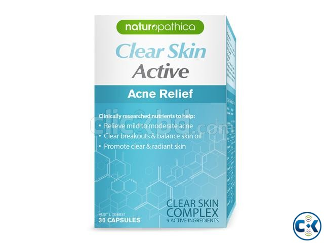 Naturopathica Clear Skin Active Acne Relief Cap x 30 | ClickBD large image 0