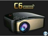 C6 Projector With TV Wifi